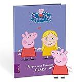 Framily personalisiertes Kinderbuch – Peppa Pig und Du – Peppa Wutz Bilderbuch mit vielen individuellen Gestaltungsmöglichkeiten – das ideale Geschenk für Kinder von 1 bis 8 Jahren