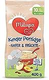 Milupa Kinder-Porridge Hafer und Früchte ab dem 10. Monat bis 3 Jahre, 400 g