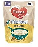 Milupa Milchbrei Grießbrei Miluvit > Mit≪≪ Kleine Genießer ab dem 6. Monat, 1 x 400 g