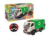 Revell Control 00971 Müllwagen ferngesteuert für Kinder mit 2.4 GHz Fernbedienung Fahrzeug, grün