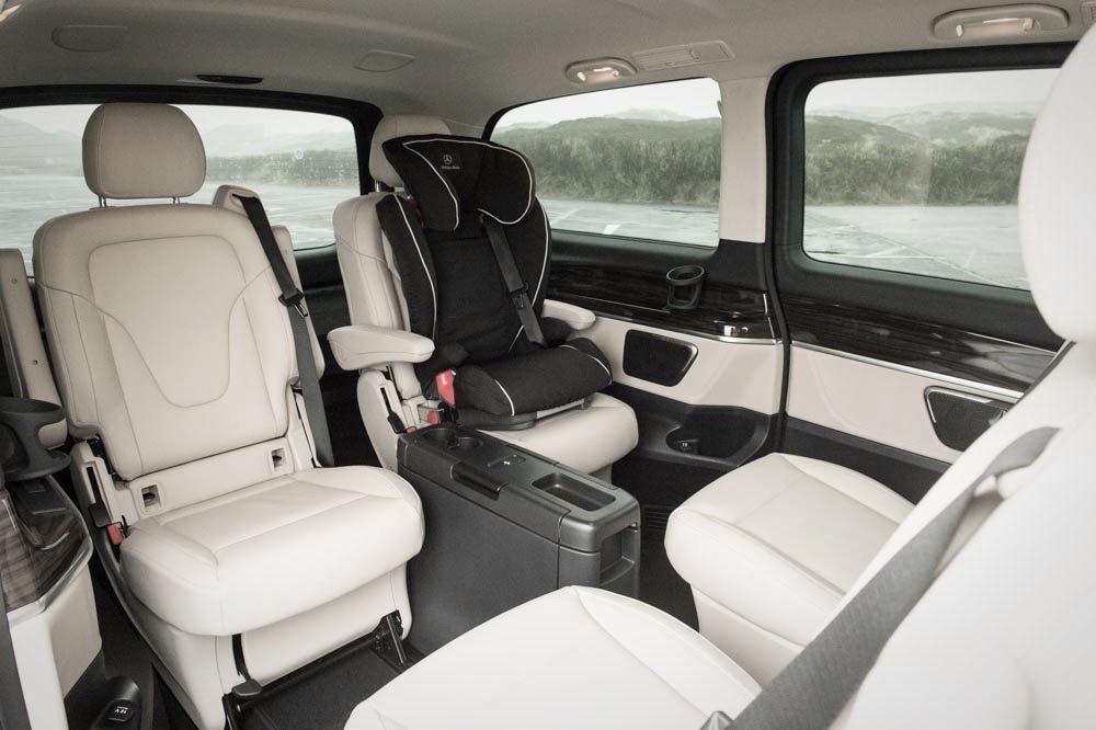 Mercedes-Benz V-Klasse (2014) Innenraum