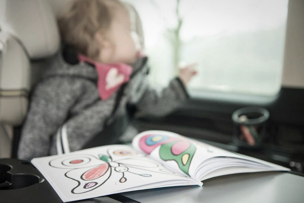 Mercedes-Benz V-Klasse Kindersitz