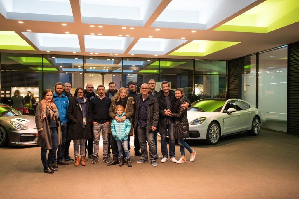 Familyblogger bei Porsche in Leipzig