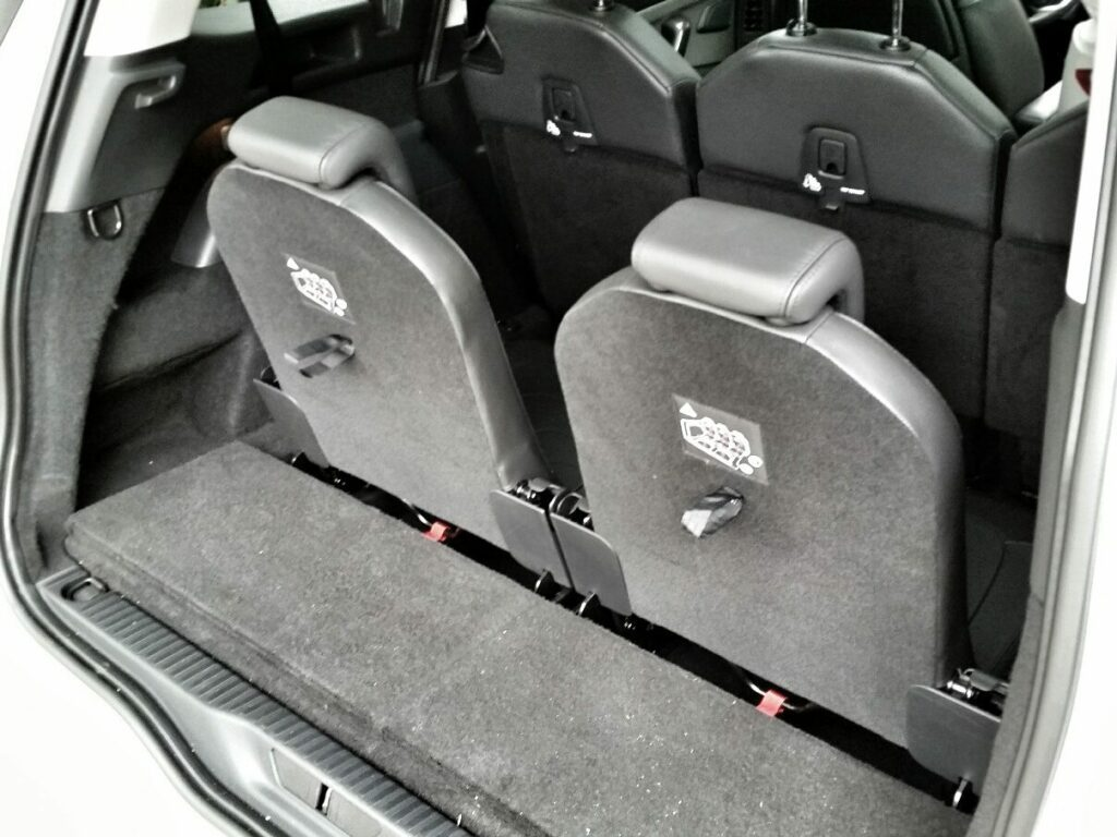 Citroën Grand C4 Picasso (2014) Dritte Sitzreihe