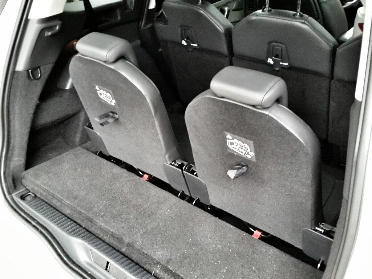 Citroën Grand C4 Picasso Dritte Sitzreihe