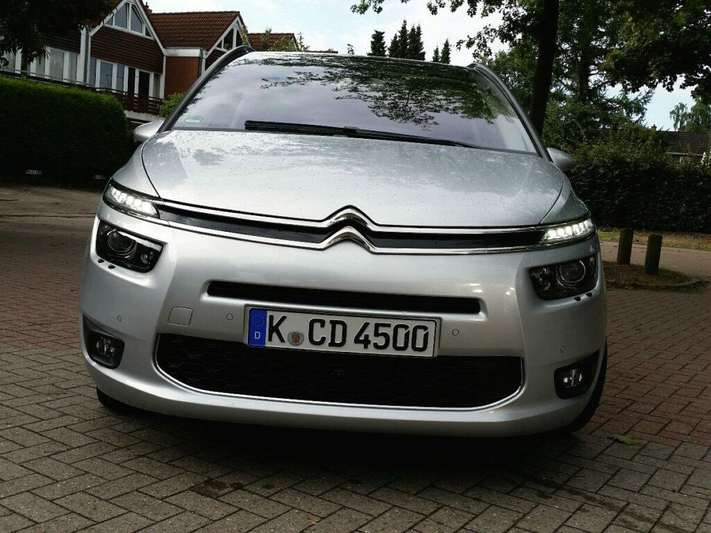 Citroën Grand C4 Picasso (2014) Front