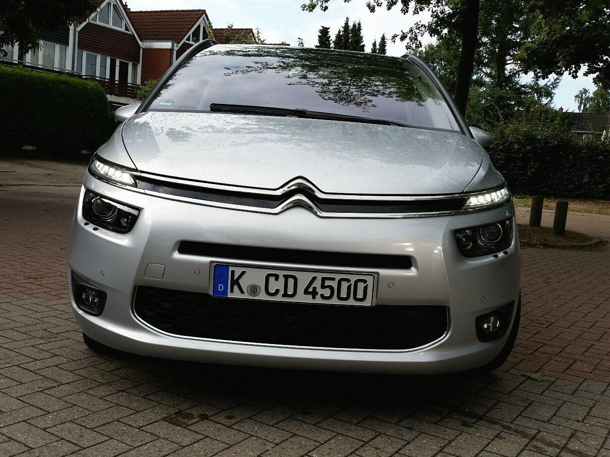 Citroën Grand C4 Picasso Front
