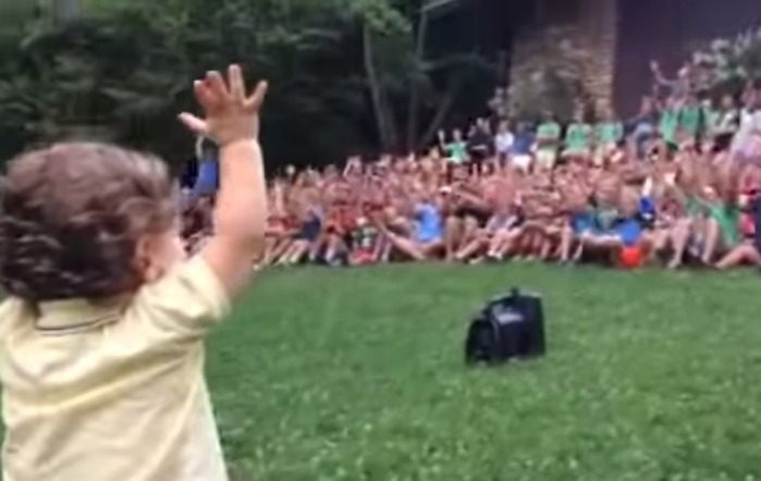 15 Month Old Controls 500 Boys at Camp Rockmont YouTube