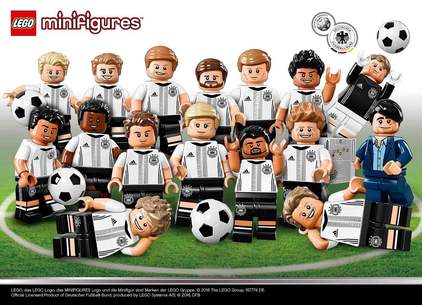 157774 LEGO GmbH Minifiguren Teamaufstellung 1