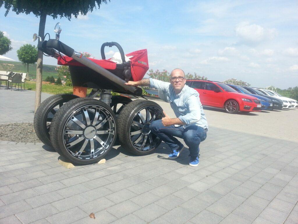 Škoda Kinderwagen