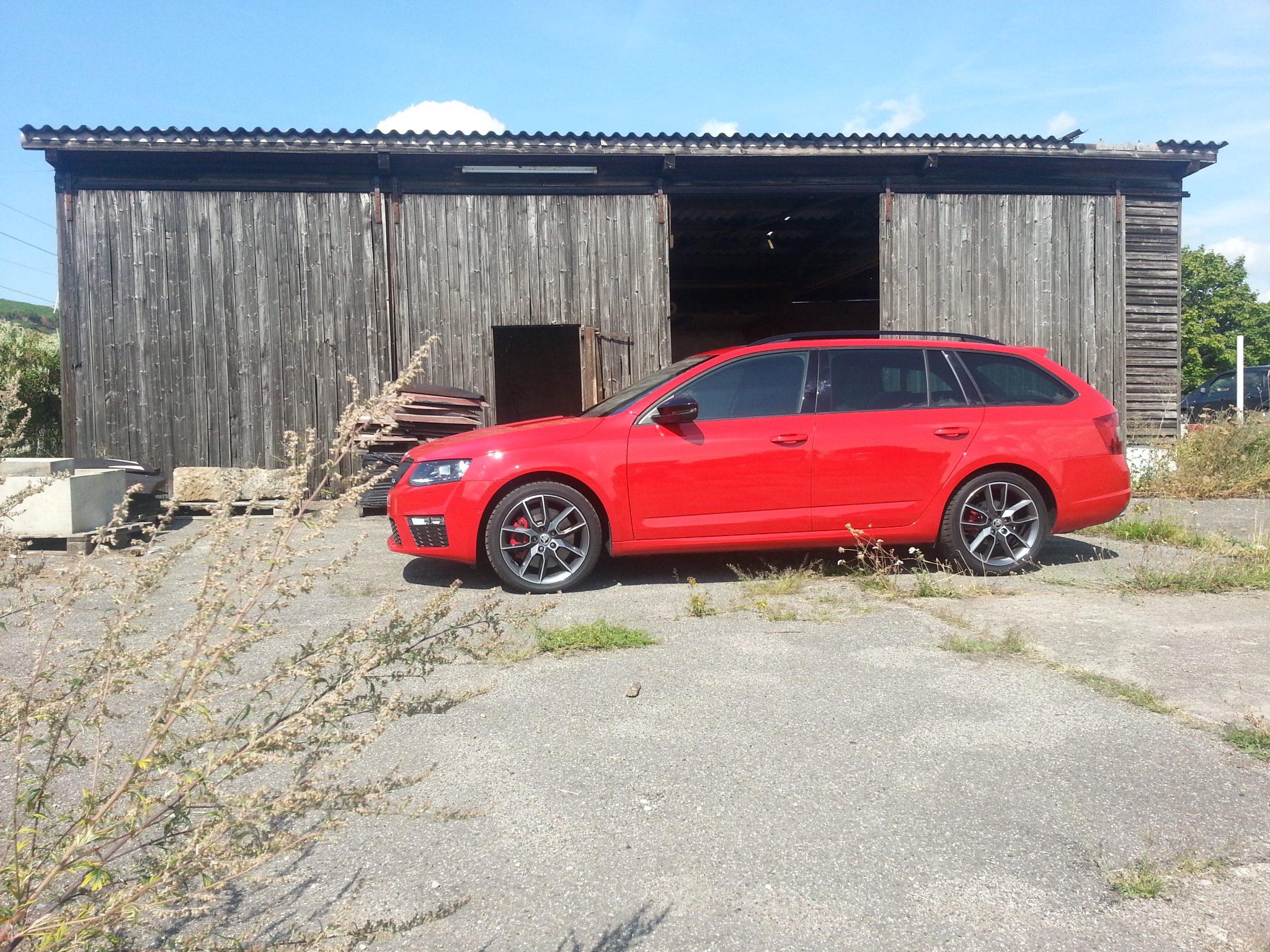 Škoda Octavia RS Combi Seitenansicht