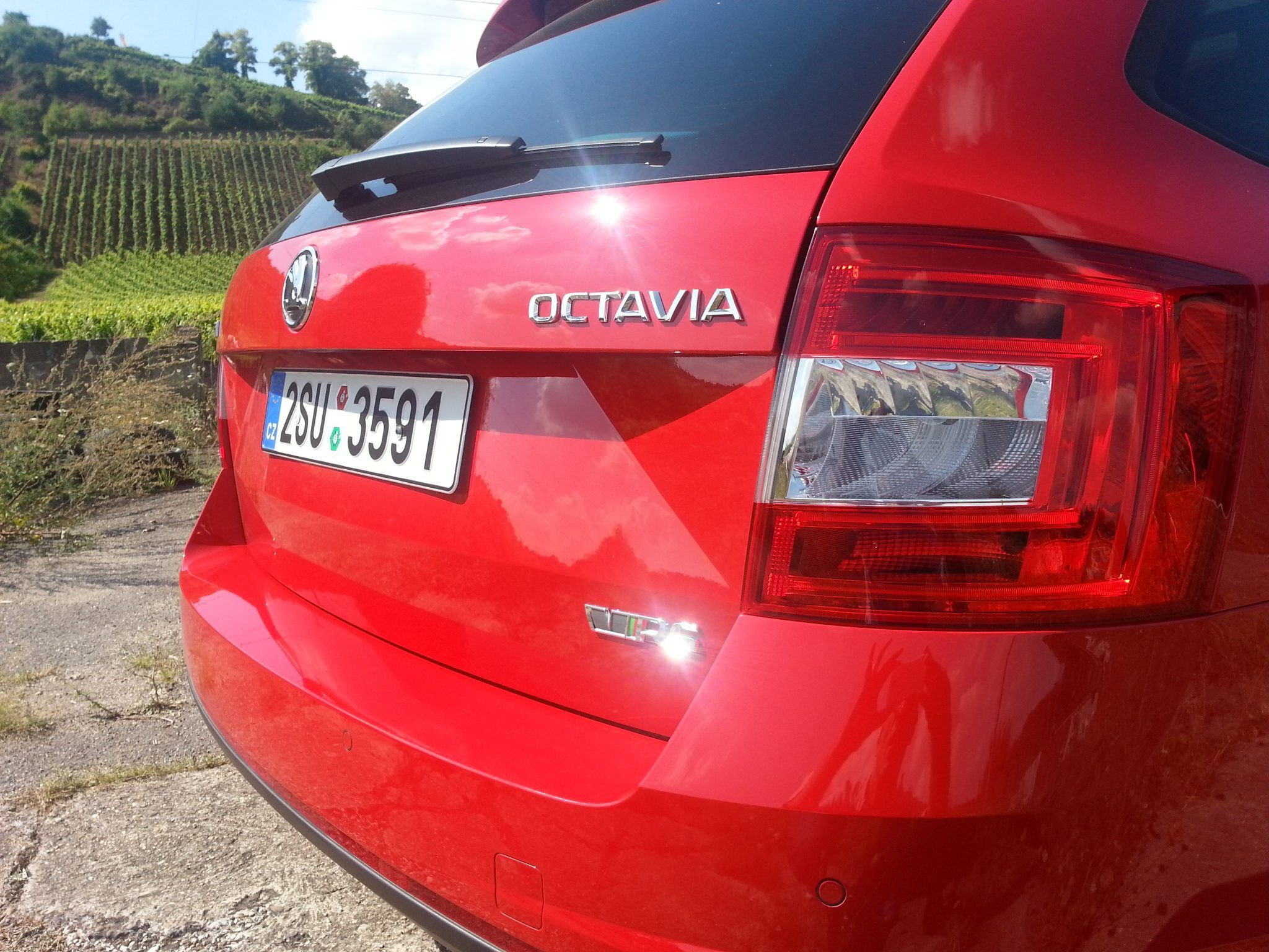 Škoda Octavia RS Heck