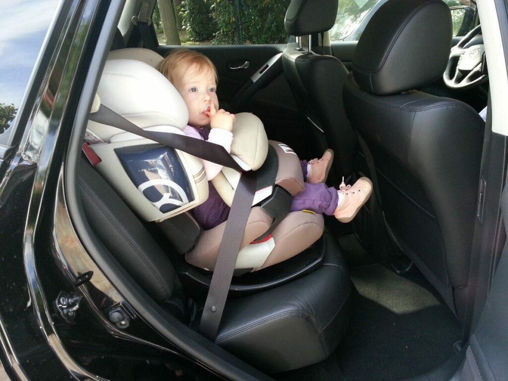 Nissan Murano 2.5 dCi (2013) Kindersitz