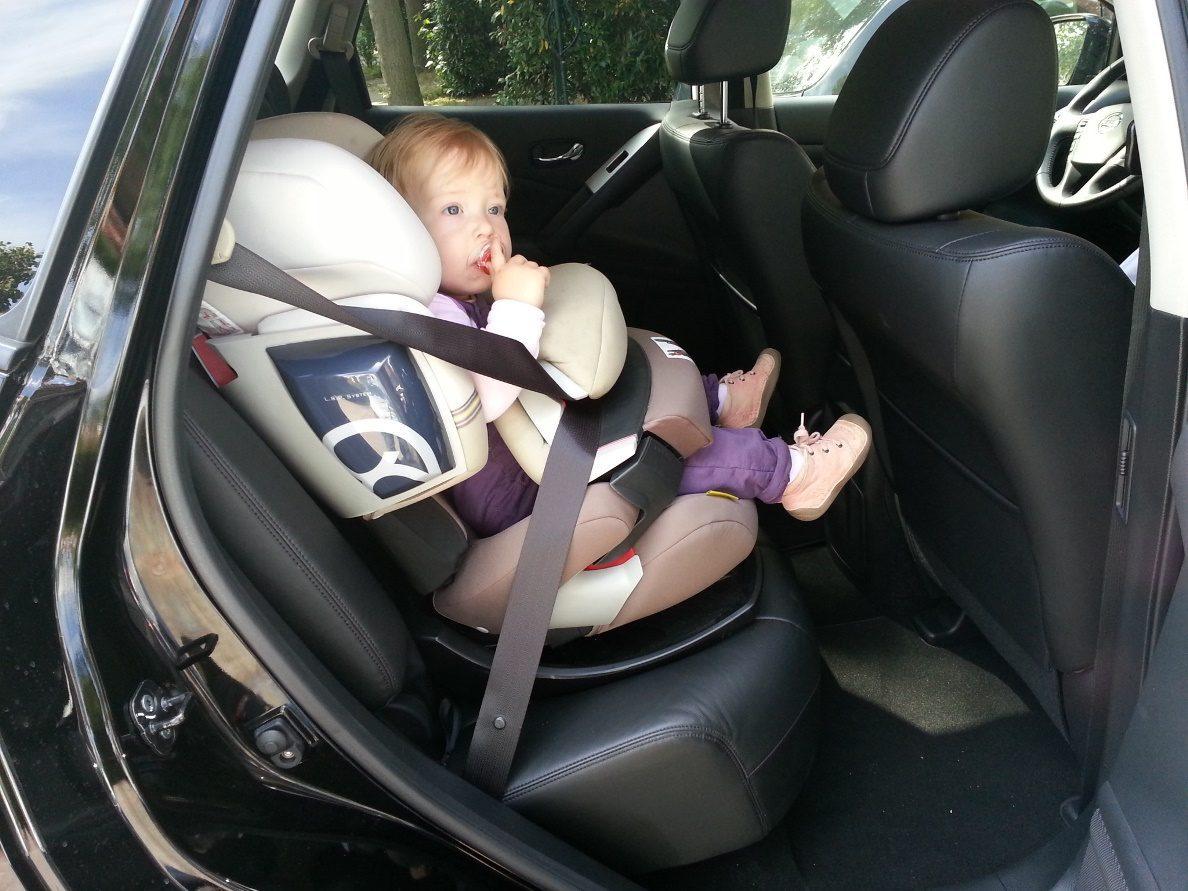 Nissan Murano Kindersitz