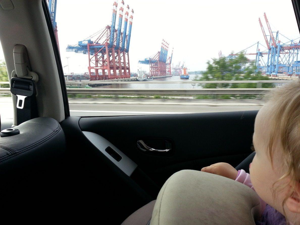 Nissan Murano Kindersitzposition