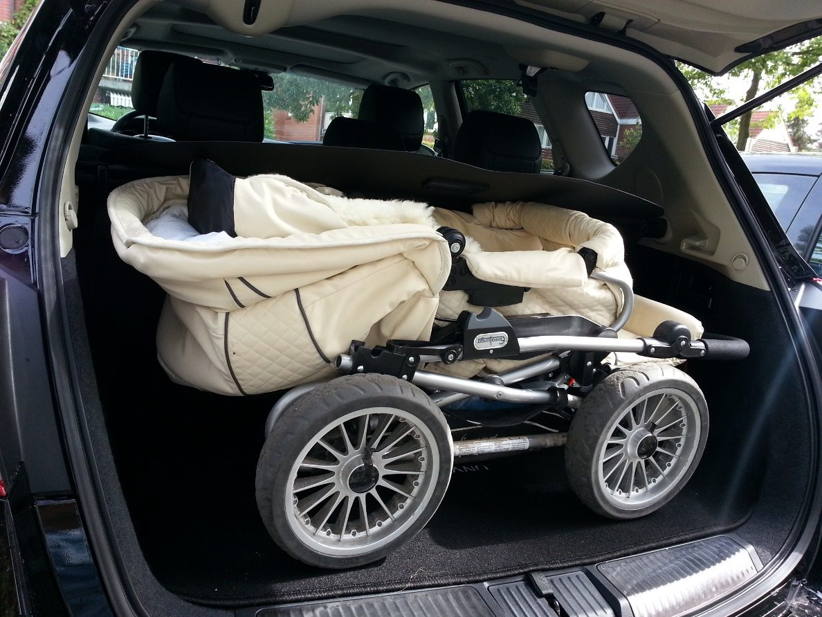 Nissan Murano Kofferraum