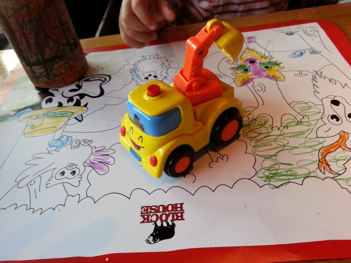 Block House Spielzeug