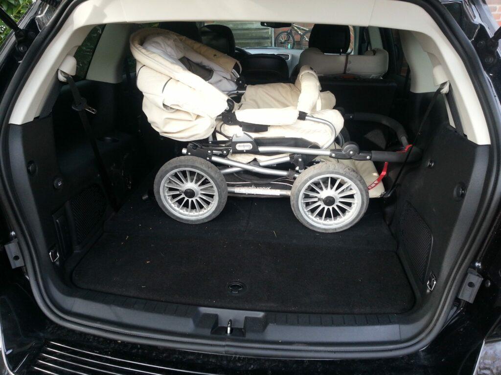 Fiat Freemont 2.0 (2013) Kofferraum