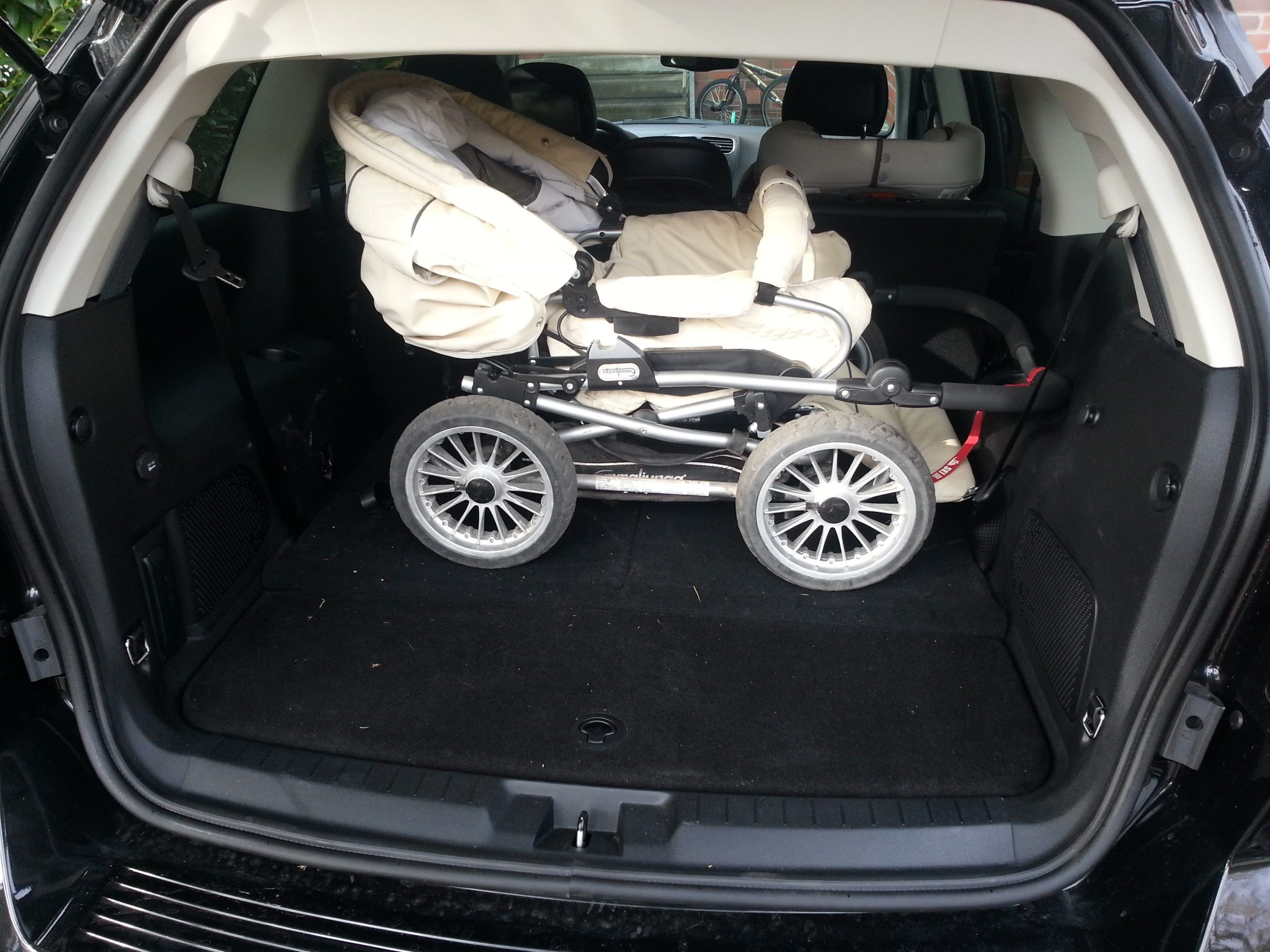 Fiat Freemont Kofferraum