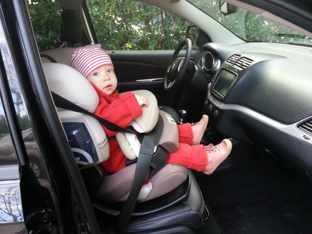 Fiat Freemont 2.0 (2013) Kindersitz
