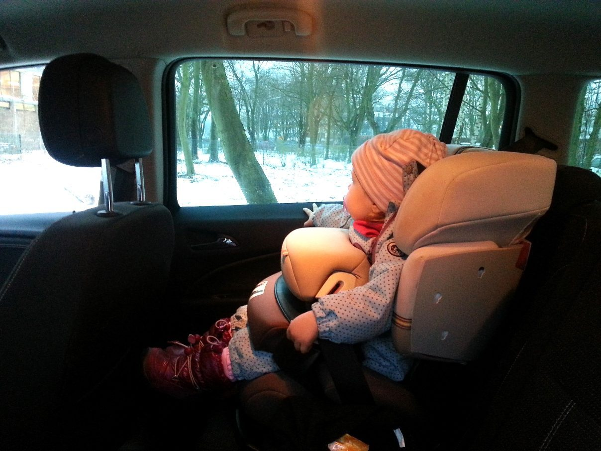 Opel Zafira Tourer Kindersitz