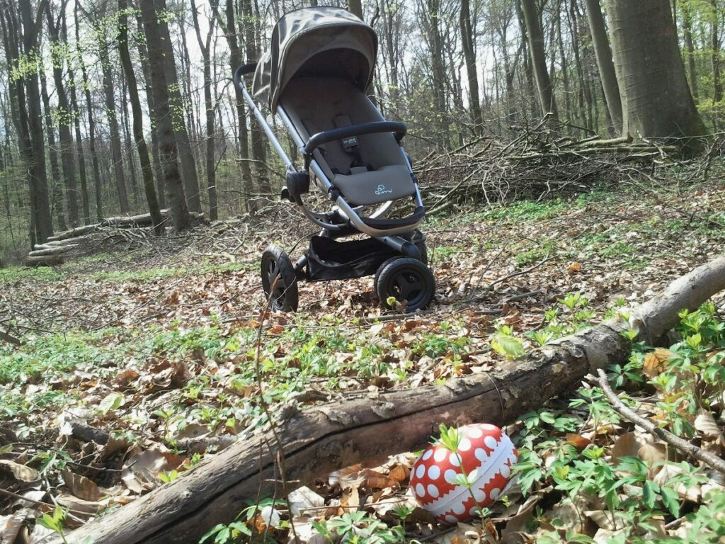 Quinny Buzz Xtra Modell 2014 mit Osterei