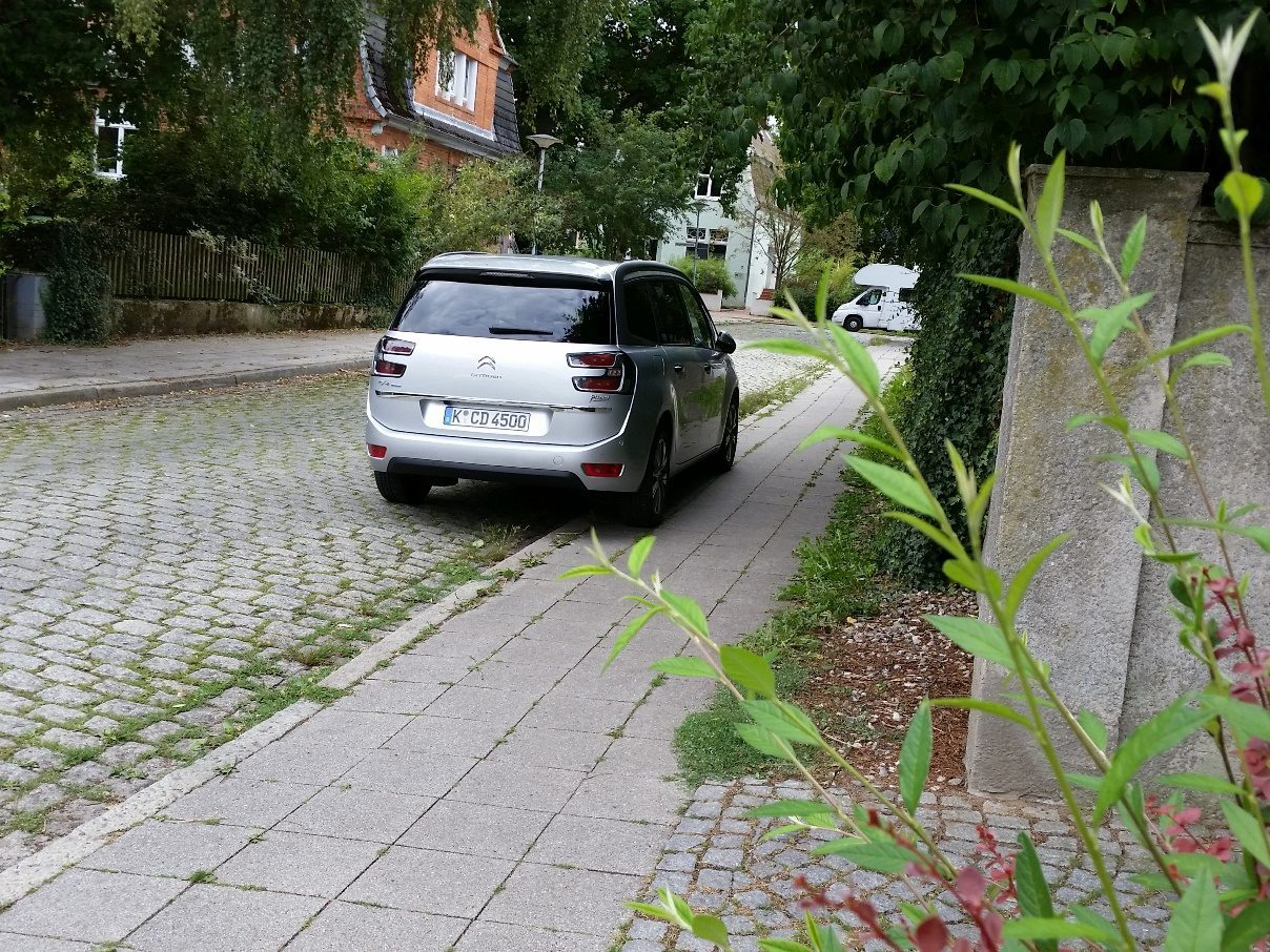 Citroën Grand C4 Picasso Heck