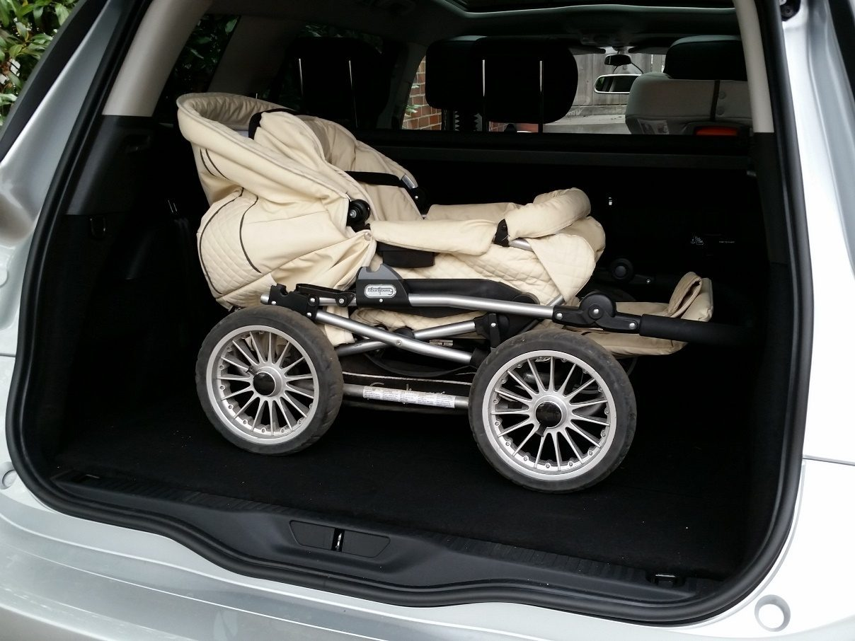 Citroën Grand C4 Picasso Kofferraum