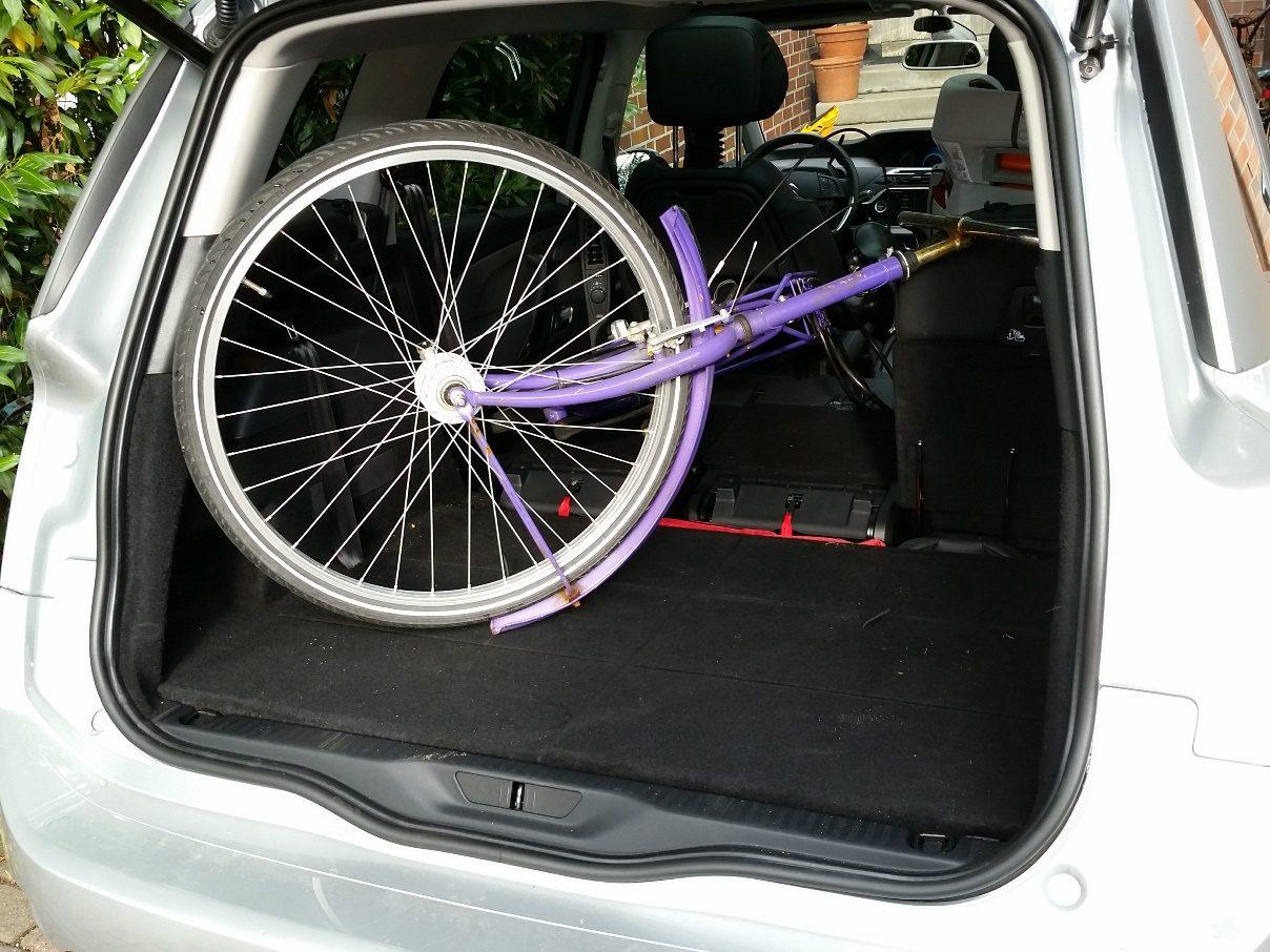 Citroën Grand C4 Picasso Fahrrad