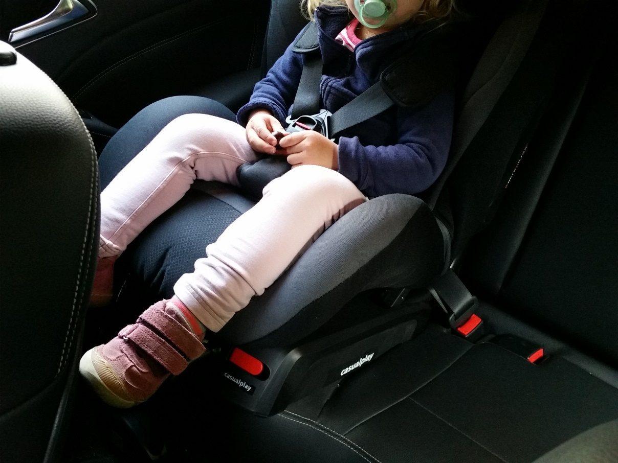 Kindersitz Casualplay Q-Retraktor Gurt