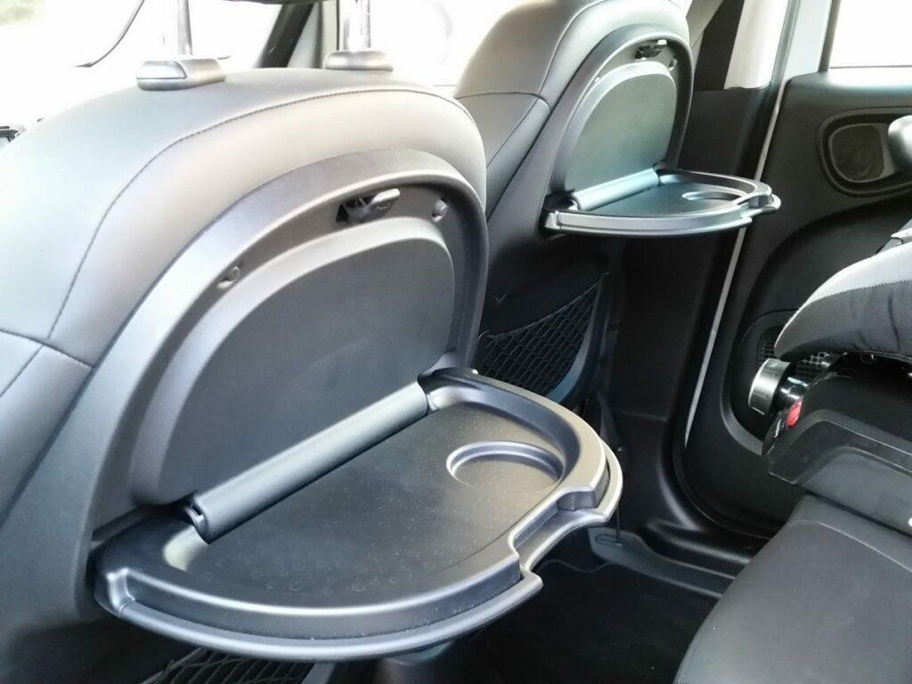 Fiat 500L Beats Edition (2014) Rückbank