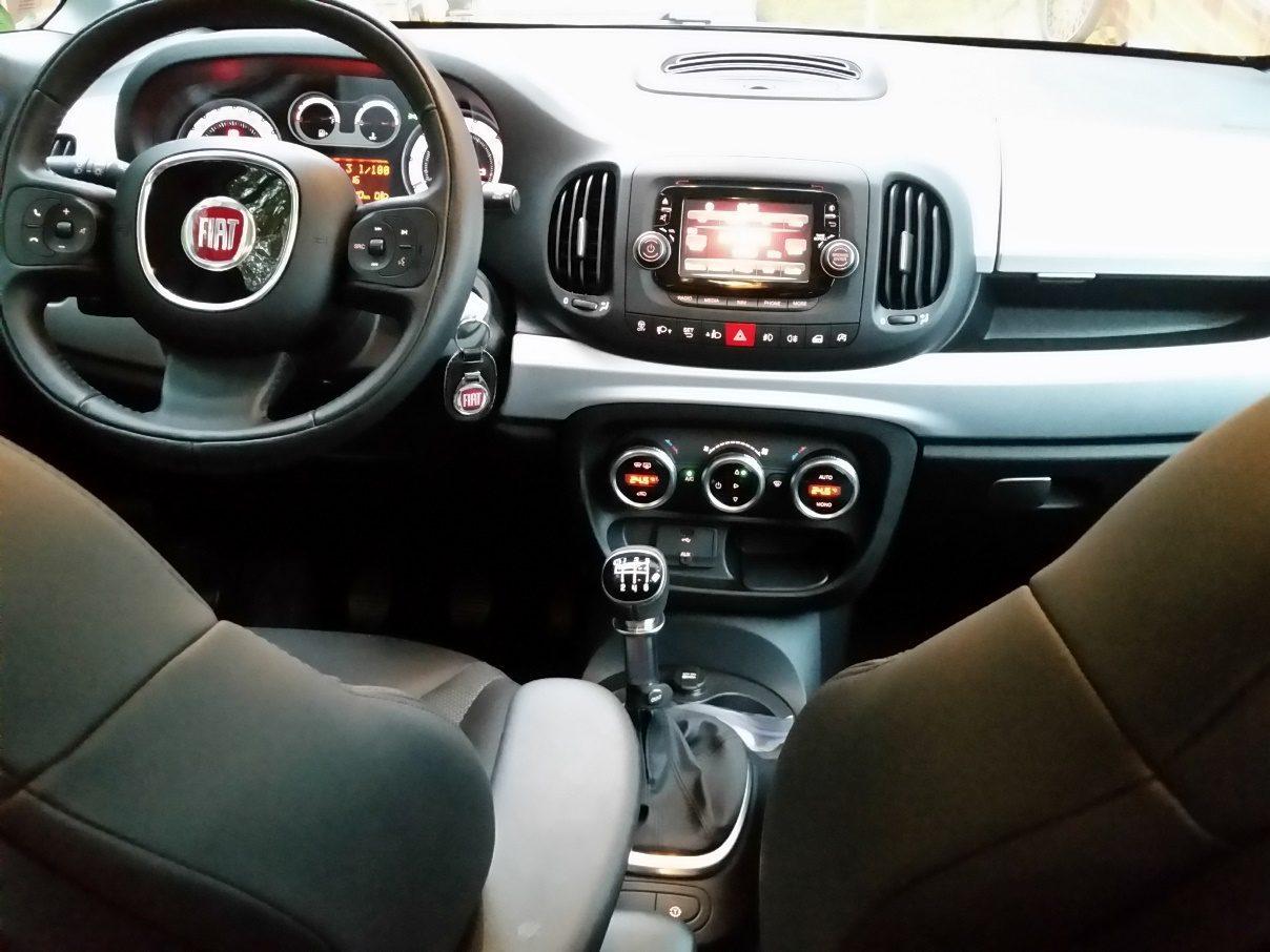 Fiat 500L Beats Edition Armatur