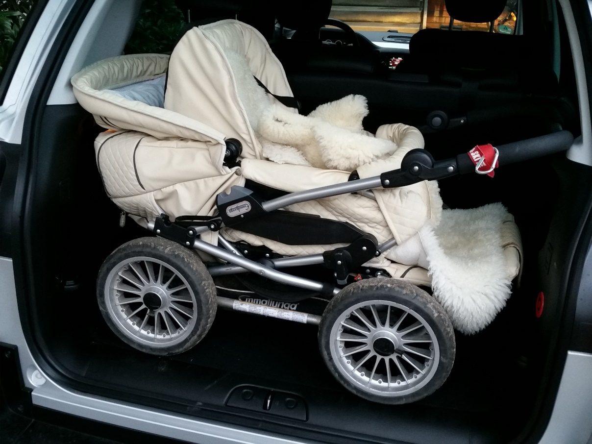 Fiat 500L Beats Edition Kofferraum