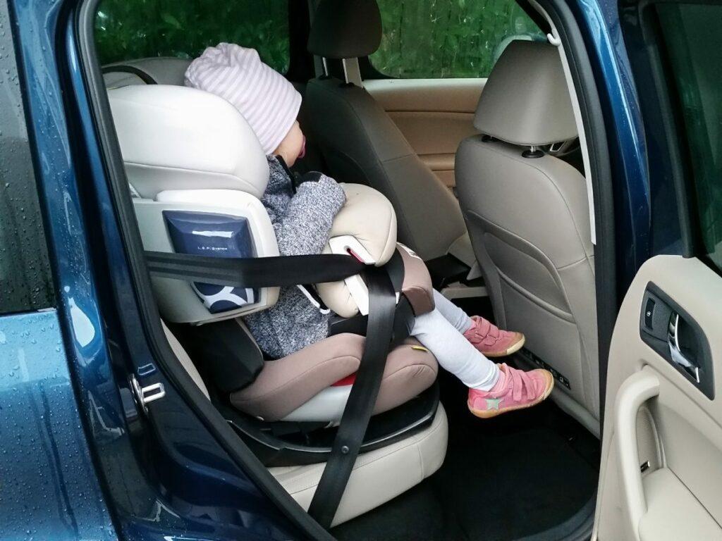 Škoda Yeti 4x4 Elegance (2014) Kindersitz