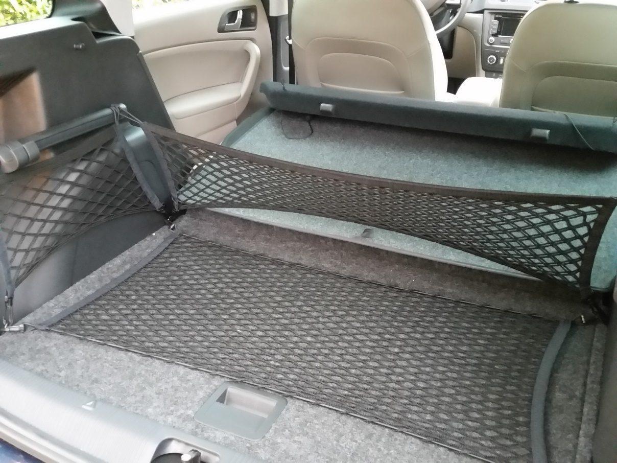 Škoda Yeti Kofferraum leer