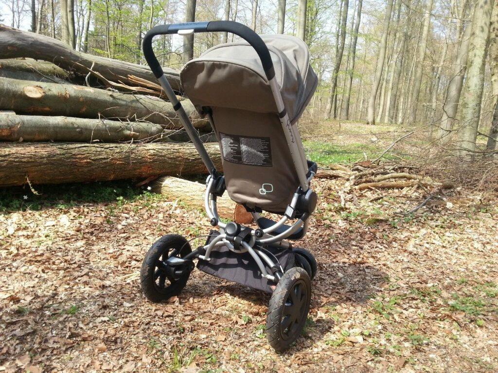 Kinderwagen Quinny Buzz Xtra (2014) Rückansicht