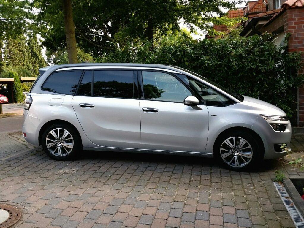 Citroën Grand C4 Picasso (2014) Seitenansicht