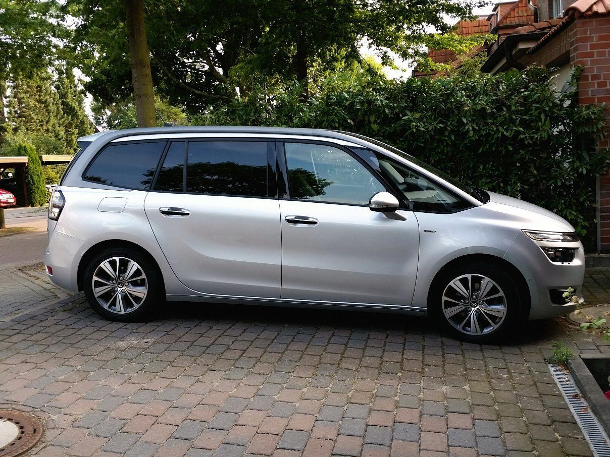 Citroën Grand C4 Picasso Seitenansicht