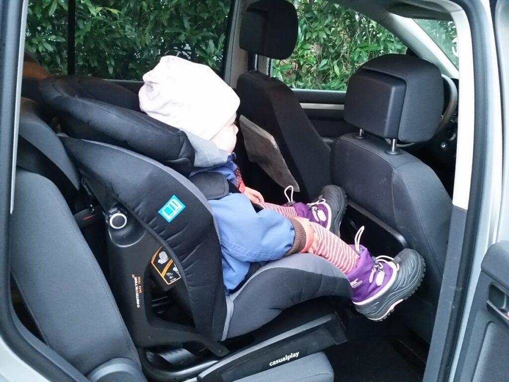 VW Touran TDI (2015) Kindersitz
