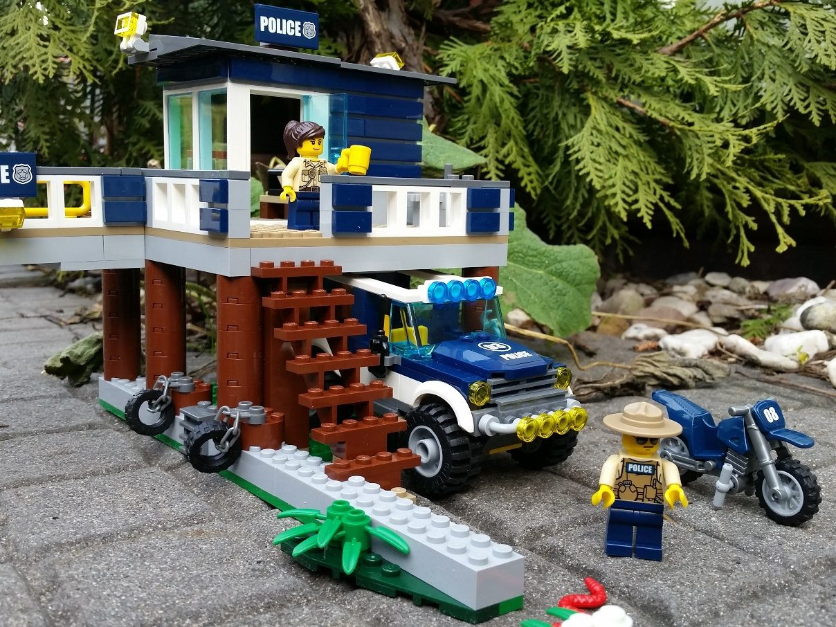 Lego Sumpfpolizei