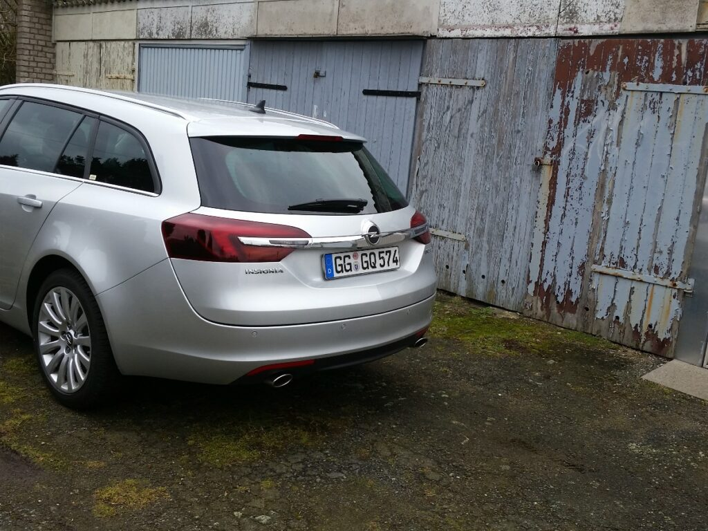 Opel Insignia Sports Tourer (2015) Heck