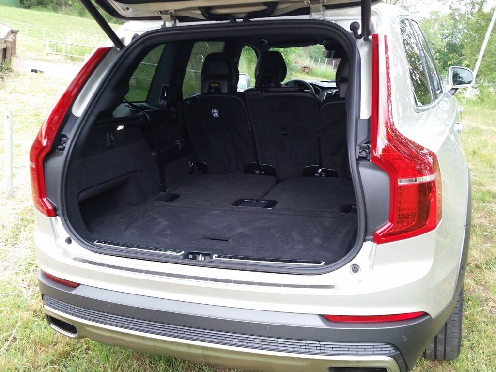 Volvo XC90 (2015) Kofferraum