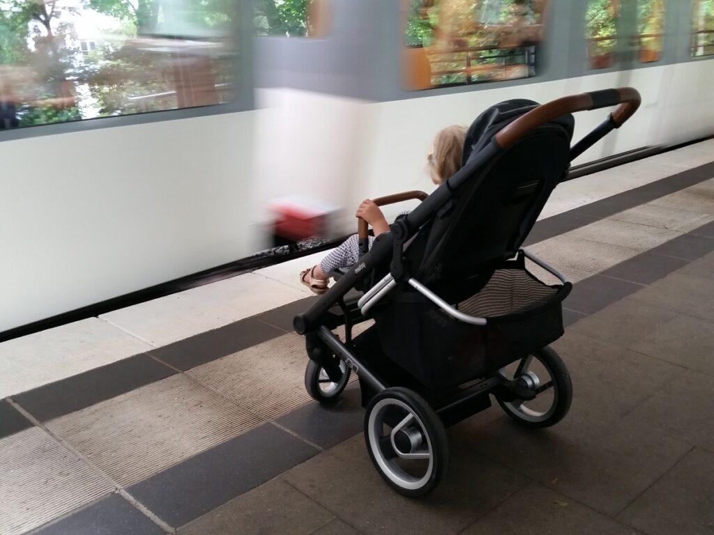 Kinderwagen Mutsy iGO Rückseite