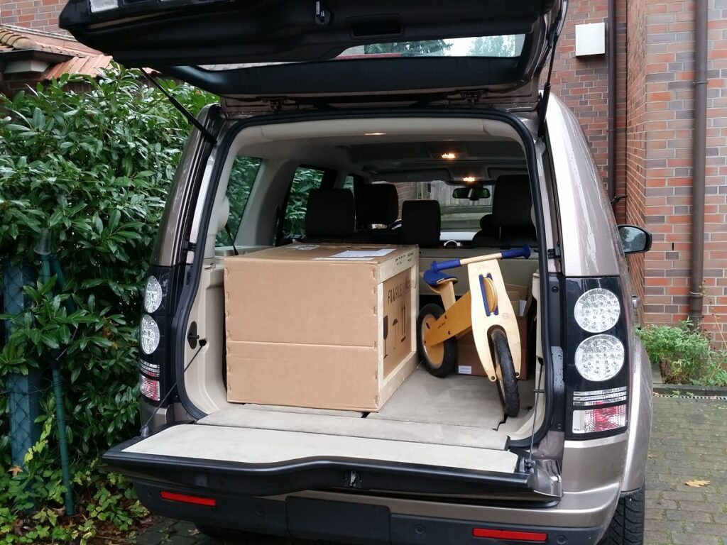 Land Rover Discovery (2016) Kofferraum