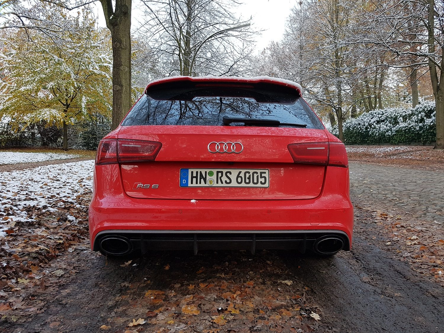 Audi RS 6 performance Heck
