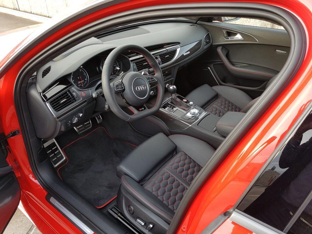 Audi RS 6 performance Fahrersitz