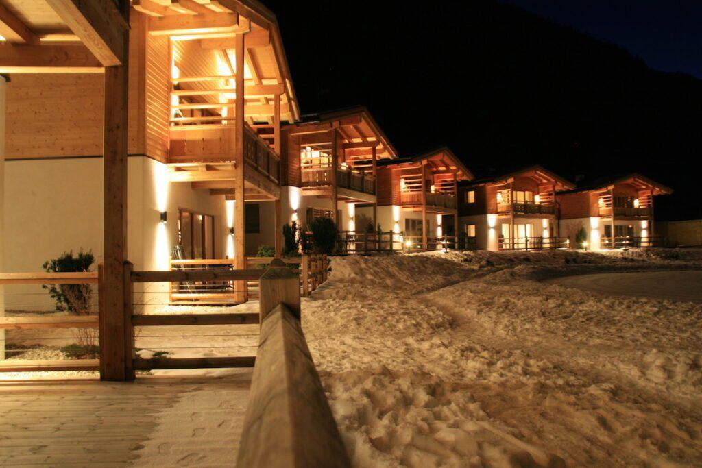 Abendstimmung im Feuerstein Nature Family Resort