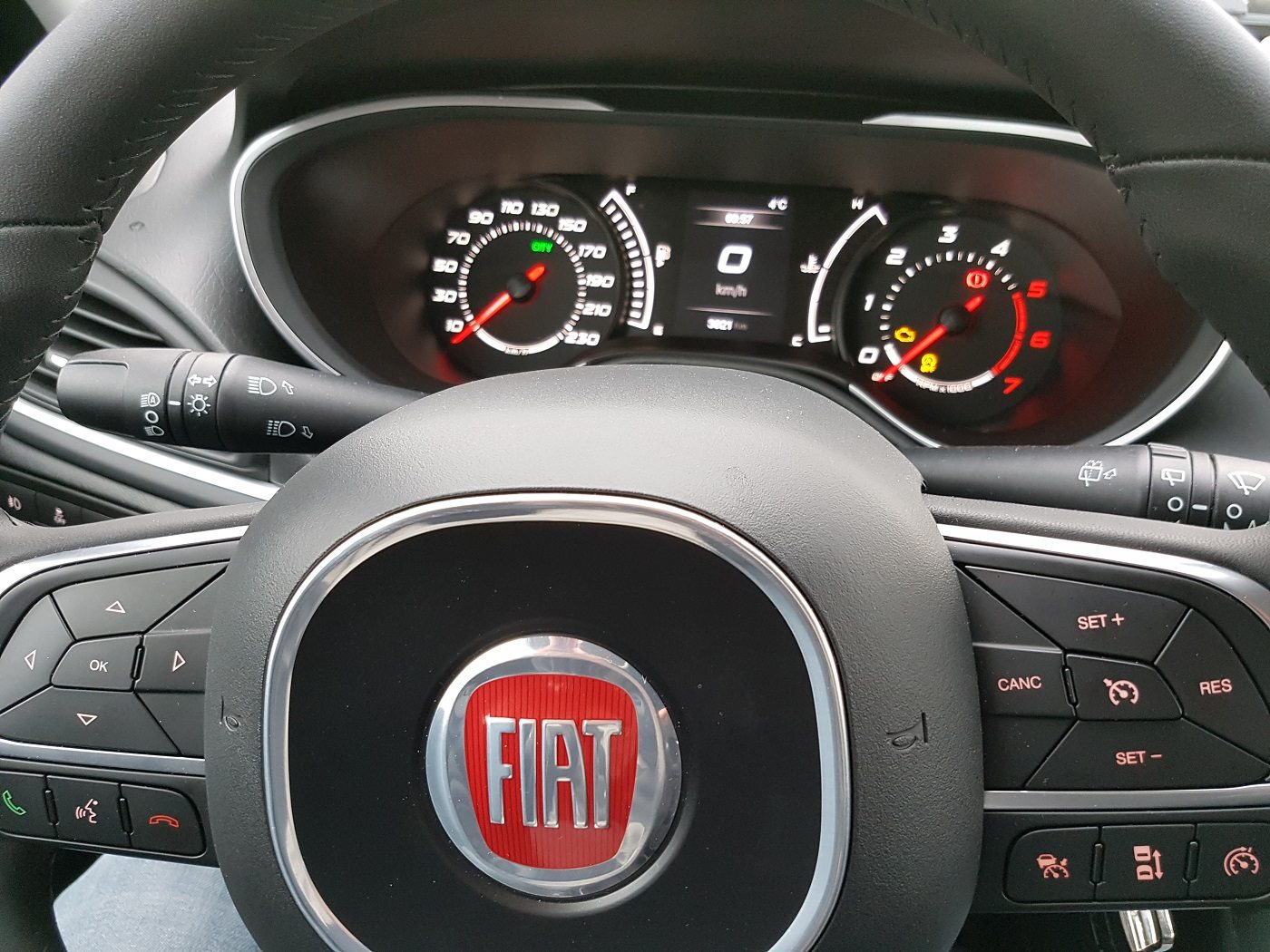 Fiat Tipo Kombi Lenkrad