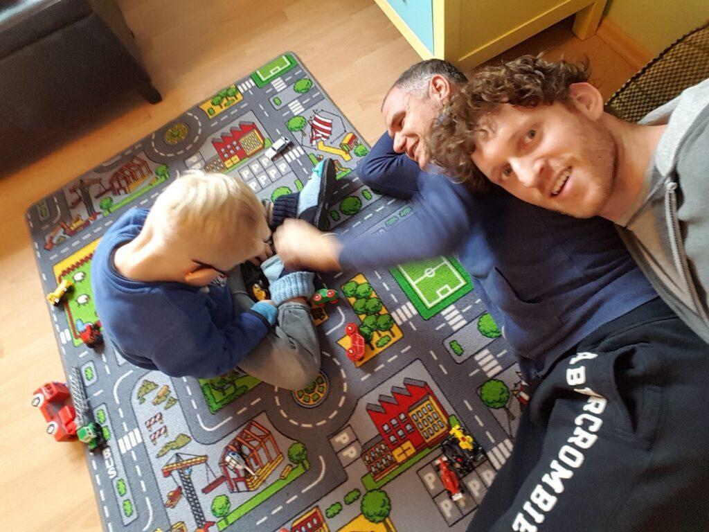 Kevin von Papapi mit Mann und Sohn