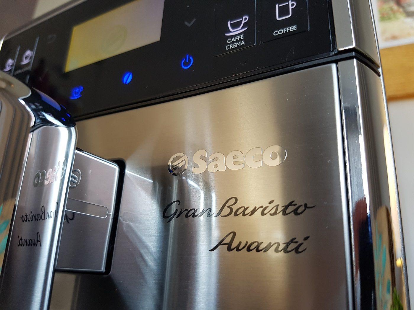 Saeco GranBaristo Avanti Kaffeevollautomat Logo